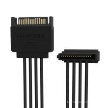 ORICO 1 a 4 cabo de extensão de 15 pinos - (DC15P-PX4)