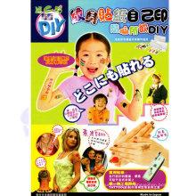 Impressão papel água decalques transferência de Papel autocolante papel papel adesivo Adesivo filme Papier Transfert Kit tatuagem de transferência de tatuagem temporária de jato de tinta