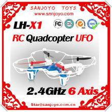 Latest LH-X1 6 axis quadcopter flalsh light 2.4GHZ control 360 eversion