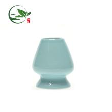 Chasen Naoshi (Whisk Holder) neue Form Pflaume grüne Farbe