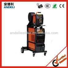 110V 220V DC Inverter welder with wire feeder Pulse MIG Welder 350