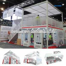 20'x40 'zweistöckiger Stand, doppelstöckige Kabine mit zwei Ebenen Etage, bieten Doppeldeck Standmaterial
