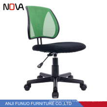 Custom colorful middle mesh back fancy adjustable office computer chair