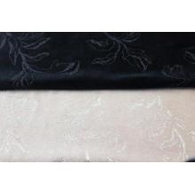 Tela de terciopelo con estampado de tela de punto polivinílico para sofá