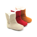 Soft Sole Toddler Girls hiver chaud d'abord