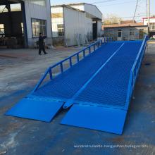 10t Mobile hydraulic portable yard ram