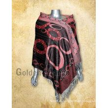 Fashionable viscose cashmere pashmina shawls