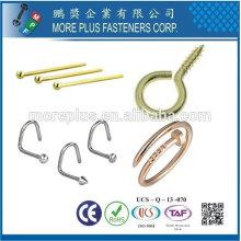 Taiwan Online Shopping en acier inoxydable plaqué or vis bijoux