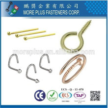 Taiwan Online Shopping stainless steel gold plated costume jewelry screws