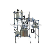 TST-200MS high pressure reaction vessel /glass flask with CE