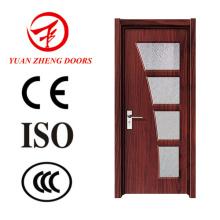Tür-Zugang PVC-hölzerne Tür