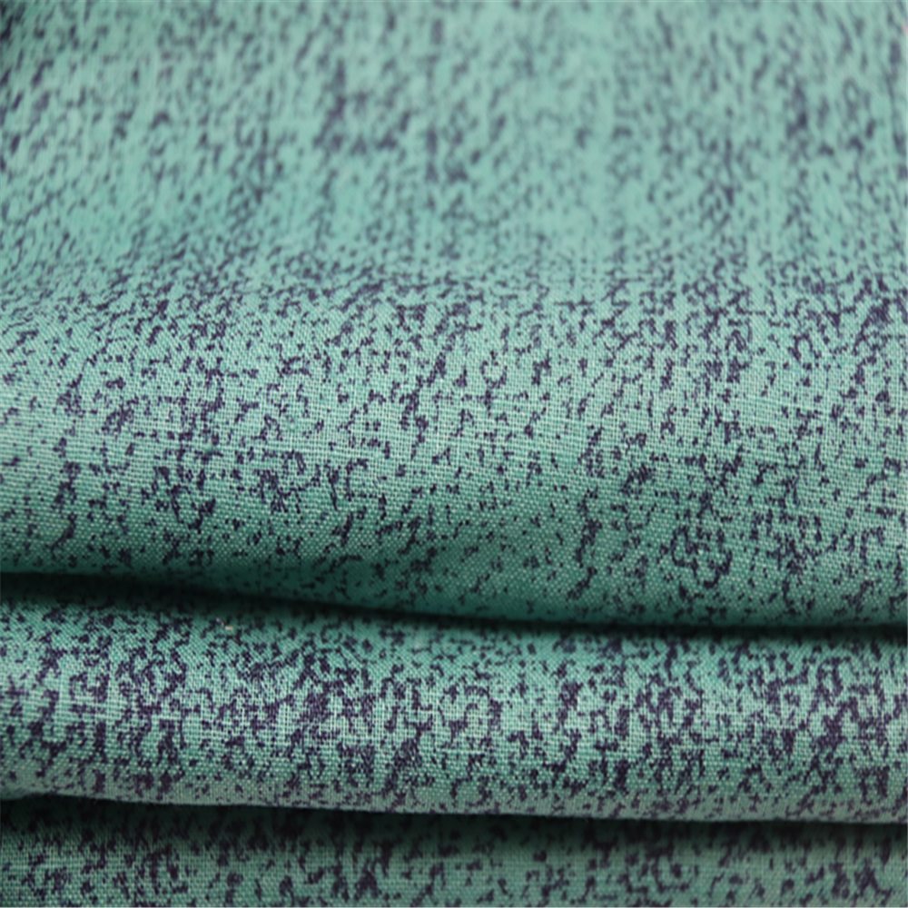 Linen Cotton Printed Fabric