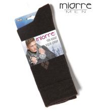 Miorre Wholesale Sweat-absorbent Plaid Winter Men Wool Socks