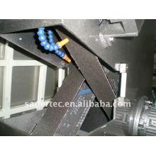 Machine de bordure en verre sable ceinture
