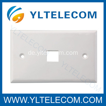Wand-Face Plate RJ45 Single Port 1 Port 70 * 115MM