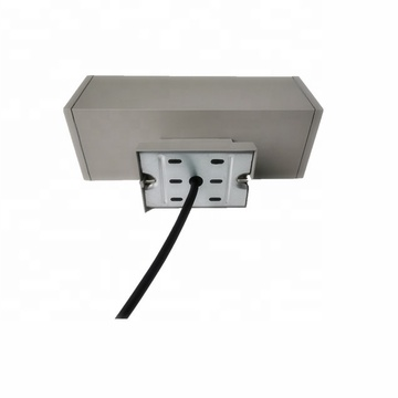 Aplique de pared LED de aluminio con doble cabezal exterior