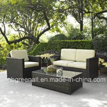 Garden Sofa Wicker Rattan Patio Furniture (GN-9078-4S)