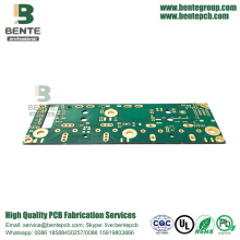 "2 Layers FR4 Tg170 PCB Thick Copper PCB ENIG 3u"" Thick Gold"