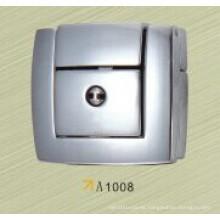 Caja de aluminio con cerradura de zinc