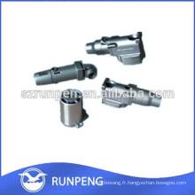 Pièces moulées sous pression en aluminium, moulage sous pression au zinc avec machine de coulée sous pression de haute qualité