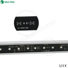 Programmable aluminum housing 24 volt dmx rgb pixel waterproof cheap led light bars