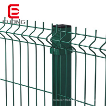 High quality powder painted PVC coated iron wire fencing mesh panel