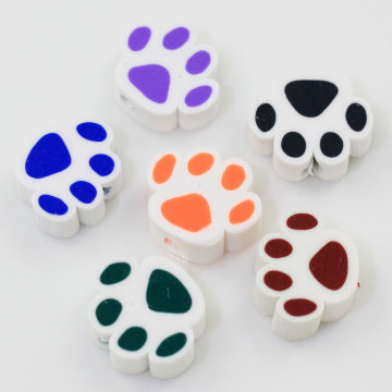 10 * 12MM Cartoon Animal Sole Polymer Caly Slice für Cartoon Kleber Telefon Shell Zubehör oder Diy Zubehör Clay Decor