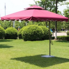 Custom Silk Printing Outdoor Garden Umbrella