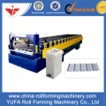 C21 Metal Roof Sheet Roll Forming Machine populer Di Rusia