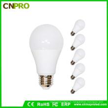 Ampoule LED 9W E27 LED personnalisée avec logo de vente chaude