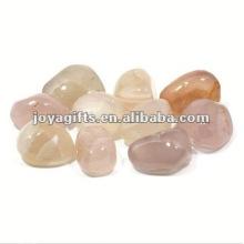 High Polished Gemstone Pedra de pedra branca natural