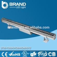 Boa qualidade DMX512 36W RGBW LED Wall arruela, IP67 levou parede arruela, CE RoHS
