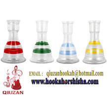 Hottest Colorful Medium Shisha Glass Hookah Bottle