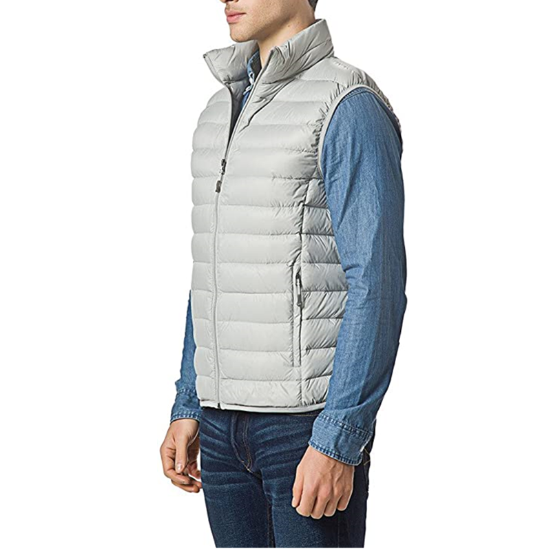 Men Packable Lightweight Down Vest Outdoor Puffer Vest3