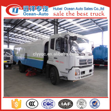 Dongfeng 10cbm road sweeper truck with brushes