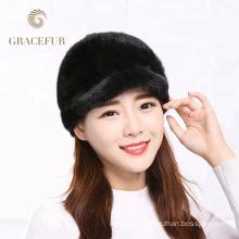 Comfortable colors real mink fur hats makers shop