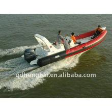 RIB680A Sport-Schlauchboote-Luxus-Yacht mit PVC-115 PS Motor