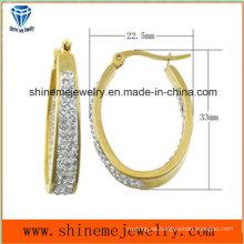 De acero inoxidable de moda de alta calidad de joyería pendiente Ear Stud Ers6938