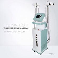 Fração de freqüência de rádio rf resurfacing da pele