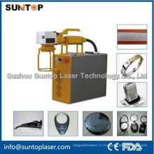 Machine de marquage au laser à main / machine à marquer par laser à petite taille