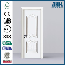 JHK Latest Bathroom WPC Door Retractable Interior Doors