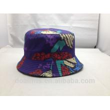 art picture 100% polyester custom print bucket hats