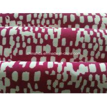 Tecido de impressão ponto vermelho para roupas esportivas (HD1401099)