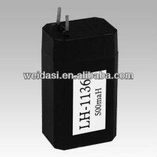 Батарея 4v Загерметизированная свинцовокислотная батарея