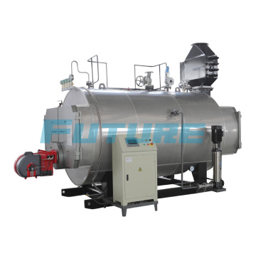 Caldera de vapor industrial o de gas
