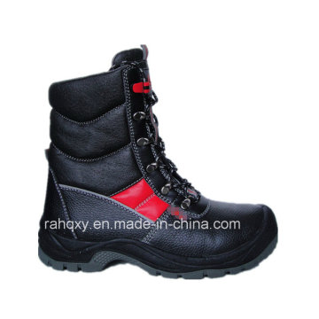 Professional Red Part Sport Style Safety Military Shoes (HQ03025)