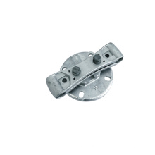 Doubles conducteurs Bus Bar Supports Clamp