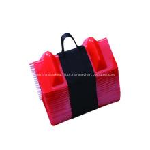 proteção de canto de embalagens plásticas em paletes