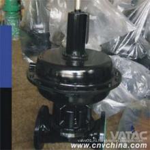 Пневматический мембранный клапан типа Weir
