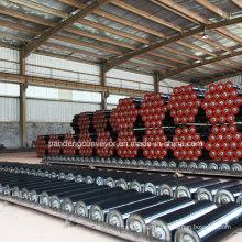 Cement Clinker Usage Belt Conveyor Idler Roller with Carton Steel